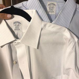 2 Brooks Brothers work shirts